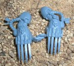 SPACE WOLVES: WOLF GUARD TERMINATOR WOLF CLAWS (LIGHTNING) A