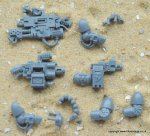 DEATHWATCH VETERAN FRAG CANNON & INFERNUS HEAVY BOLTER KIT