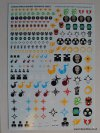 CHAOS SPACE MARINE DECALS NEW 2014