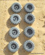 GOLIATH ROCKGRINDER WHEELS X4