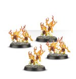 WARHAMMER QUEST 4 pairs of Brimstone Horrors