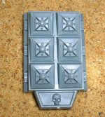 LAND RAIDER CRUSADER ASSAULT LAUNCHER PLASTIC