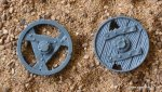 SKAVEN LIGHTNING CANNON MEDIUM WHEELS X2