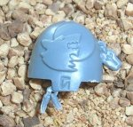 SPACE WOLVES: WOLF GUARD TERMINATOR SHOULDER PAD F