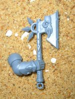 CHAOS KNIGHTS AXE ARM B