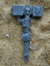 SPACE MARINE VANGUARD THUNDER HAMMER B