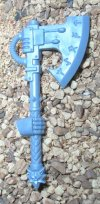 SPACE WOLVES: WOLF GUARD TERMINATOR FROST AXE WITH HAND