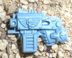 SPACE WOLVES: WOLF GUARD TERMINATOR STORM BOLTER WITH HAND