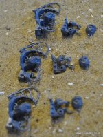 SKAVEN STORMFIENDS RAT BRAINS X3