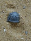 SPACE MARINE VANGUARD SHOULDER PAD J