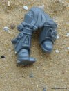 SPACE MARINE VANGUARD LEGS A