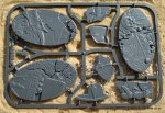SHATTERED DOMINION LARGE 90MM OVAL X3