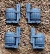 OGOR SCRAPLAUNCHER/IRONBLASTER BARRELS ON BRAKETS X2