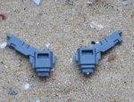 TAU XV8 CRISIS BATTLESUIT MOUNTS X2