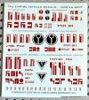 TAU VEHICLE DECAL SHEET
