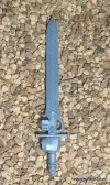 GREY KNIGHT TERMINATOR NEMESIS FORCE SWORD B