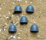 SPACE MARINE COMMAND SQUAD SHOULDER PADS X5