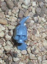 DARK ELDAR HELION SKULL ON SPIKE B