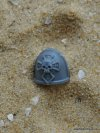 SPACE MARINE VANGUARD SHOULDER PAD B