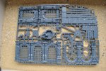 WARCRY CATACOMBS CORE SET SPRUE B WALLS