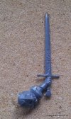 EMPIRE DEMIGRYPH KNIGHT SWORD
