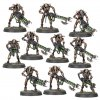 INDOMITUS NECRON WARRIORS x10 AND SCARABSx3 SPRUE