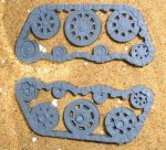 ORK BATTLE WAGON TRACK LEFT
