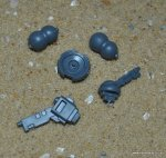 TAU XV95 GHOSTKEEL SUPPORT SYSTEMS &JOINTS
