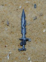 COVEN THRONE/MORTIS ENGINE SWORD WITH HAND