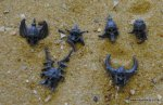 COVEN THRONE/MORTIS ENGINE SKELETON HEADS